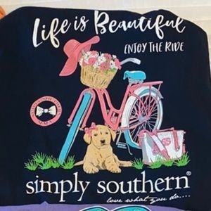 Simply southern youth large T-shirt